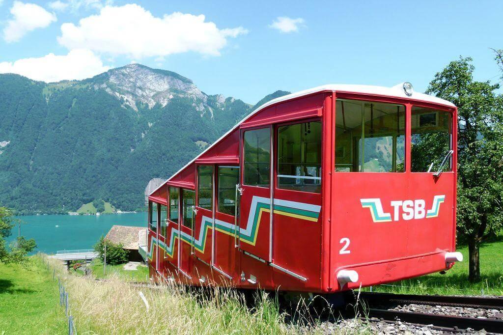 Treib-Seelisbergbahn mit Geschichte